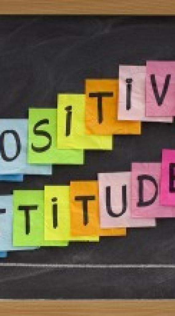 Positive attitude… bonne journée!